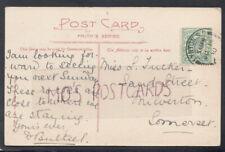 Family History Postcard - Tucker - Sand Street, Milverton, Somerset   RF4801