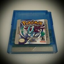 Pokemon Crystal Version GameBoy Color GBC (FREE SHIPPING)