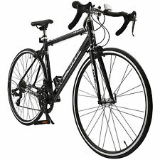 700C X 54C Shimano Aluminum Frame 14 Speed Road Bike Racing Bicycle Black