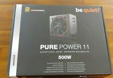 Be Quiet! Pure Power 11 500W Cm 80 Plus Gold Atx12V Power Supply. Semi-Modular.