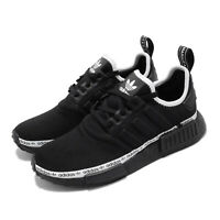 adidas Originals NMD_R1 Black White Women Lifestyle Casual Shoes BOOST FV7307