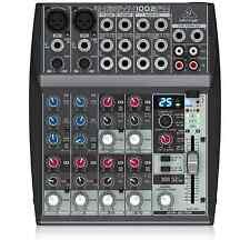 Behringer XENYX 1002FX Mixer & Multi-FX Processor