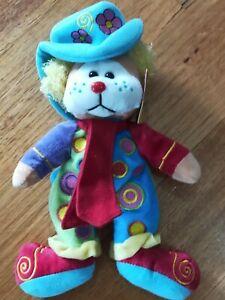 Skansen Beanie Kids, Pogo The Clown Bear 1.9.09 Virgo