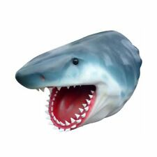 HAI KOPF lebensgroß HAIFISCH SHARK Deko Tier Figur MEERESTIERE zum Aufhängen