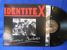 IDENTITE X nouveaux barbares INSERT ORIG FRANCE EXC+