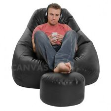 Buy XXXL Bean Bag with footrest . premium quality . Cover ONLY.