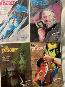Dc Comics The Prisoner Four Issues