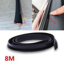 26 FT V-Seal Rubber Car Door Window Glass Seal Weather Strip Fix Abnormal Sound