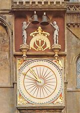 BR76431 wells cathedral somerset the clock   uk