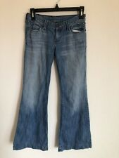 Abercrombie Fitch Low Rise Jeans, Girls 12, Medium Wash, Flared Leg