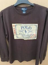 Ralph Lauren Cotton Blend Long Sleeve Boys' T-Shirts & Tops (2-16 Years)