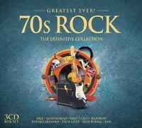 70S ROCK-GREATEST EVER 3 CD NEW+ DEEP PURPLE/ATOMIC ROOSTER/KEN HENSLEY/RAINBOW