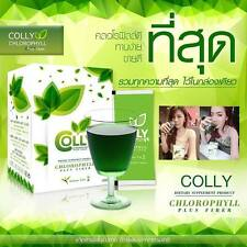 Colly Chlorophyll Plus Fiber, Green Tea Health and Detox Weight Loss Diet Drink