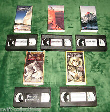EDUCATIONAL VHS LOT AMERICAN HISTORY/CULTURE HOMESCHOOL VIDEOS NATIONAL PARKS