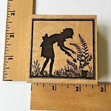 Hero Arts Rubber Stamps - Let's Garden Silhouette - F5407 - NEW
