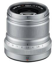 Fujifilm XF-50 mm f2.0 R Wide Angle Lens - Silver
