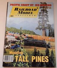 April 1994 Model Railroad Craftsman Magazine Tall Pine Trees Pacific Coast Railw