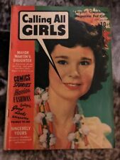 Calling All Girls Magazine June July 1943 Vol 3 No 19