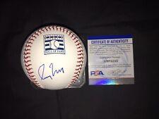 Greg Maddux Signed Official Hall Of Fame Baseball Cubs Braves Padres PSA/DNA