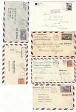 Usa: Lot of 11 covers circulated with interesting postmark. US218