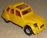 VINTAGE CORGI CITROEN 2CV6 (JAMES BOND MOVIE CAR) DIE CAST VEHICLE ORIGINAL 1/43