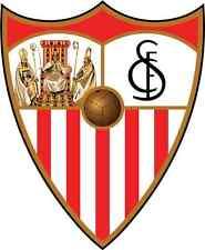 "Sevilla FC Spain Soccer Football Car Bumper Sticker Decal 4"" x 5"""