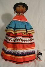 "Huge Pristine Seminole 19"" (48.3 cm) Patchwork Doll"
