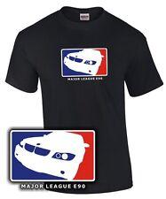 T-shirt * major league e90 * tuning 3er reunión de tres m3 * sátira BMW