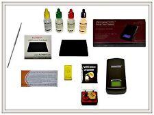 Gold Acid Testing Kit + Electronic Digital Tester Scale 10k 14k 18k 22k Detector