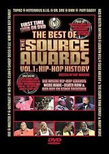 Best of The Source Awards Vol. 1 - Hip-Hop History (DVD, 2003) BRAND NEW