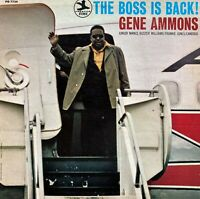 "Gene Ammons: The Boss Is Back!-1970 Prestige Royal Blue Label Stereo 12"" Record"