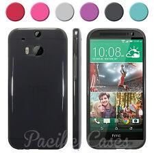Coque étui housse pour HTC One M8 (2014) souple coloris au choix + stylet inclu