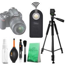 "Pro 60"" Tripod + Wireless Remote for Nikon D3200, D3300, D5100, D5200"