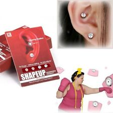 2 Pair Bio Magnetic Healthcare Earring Weight Loss Acupoints Therapy Slimming