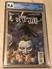 DC Comics 2011 Detective Comics #1 CGC Graded 9.6 *Third Printing*