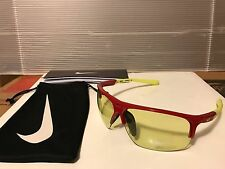 NEW Nike - RUN X2 S R - Gym Red & Volt Frame / Volt Yellow, EV0803-671