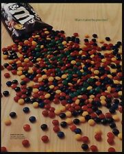 2001 M&M Candy - What Is It About The Green Ones - VINTAGE AD