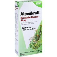 toux bronchique puissance ALPINE SIROP SALUS 250 ml pzn7516497