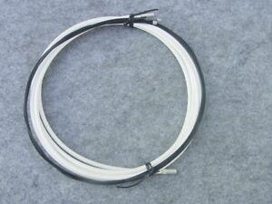 Schaltzugset Teflon Coated White or Black For Road Bike Or MTB With Sleeves