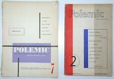 HUMPHREY SLATER Polemic Magazine of Philosophy Vols 2 & 7 Orwell Russell 1946