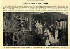 Diamantene Hochezeit Dr.v.Schlumberger Ehrenbürger Gebweiler c.1905