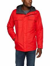 Columbia Men's Ten Falls  Waterproof Jacket, Red Spark, Size XXL, New