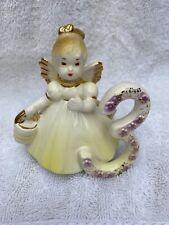 Vintage Josef Originals 3 Year Old 3rd Birthday Angel Figurine