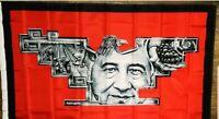 Cesar Chavez  Aztec Huelga Bird Mural 3X5 Flag