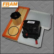 KIT di servizio PEUGEOT 207 CC 1.6 HDi FRAM Olio Aria Carburante Cabin filtri (2007-2009)