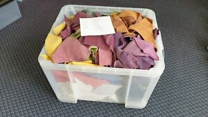 Quality Leather Offcuts   Sml/Med Scraps and Remnants   ***HUGE BUNDLE***