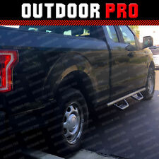 Fit 16-18 Ford F-150 Extend Super Cab Hoop Dropped Running Boards Nerf Bar Step