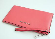 Michael KORS BORSA/CLUTCH/pochette/BAG Bedford LG Zip Clutch Coral NUOVO!