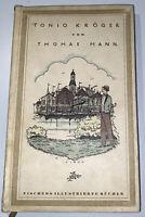 Thomas Mann Tonio Kröger  Erich M. Simon (illus.) Erstausgabe