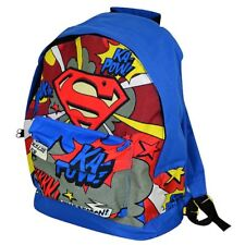 New Official DC Comics Superman Boys mens Backpack Rucksack school bag rrp £25